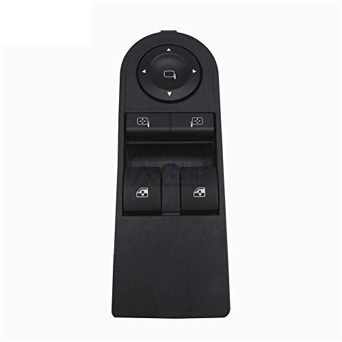 Interruptor de control de ventana 13228706 para Opel Astra H 2005-2010 para Zafira B 2005-2015 13228706 interruptor de control de ventana de coche