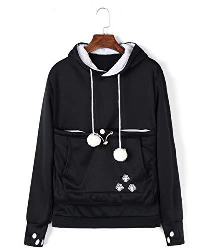 Kei Tomlison Unisex Big Pouch Hoodie Long Sleeve Fleece Pet Dog Holder Carrier Pullover Sweatshirt