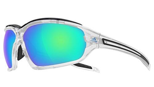 adidas Brille a193 Evil Eye Evo Pro L Crystal Shiny 6071 Blue Mirror