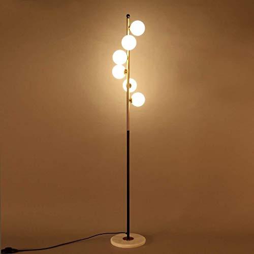 Busirsiz Conducido creativa moderna simple de la lámpara de piso, la sala de estar Iluminación en la alcoba Estudio lámpara de pie, Piano Lámpara de la pesca de la lámpara de la lámpara Eye-Cuidado Ve