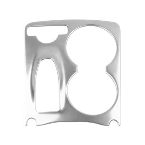 CMEI Centro Centro Consola DE LA Consola DE LA Manera DE LA Manera DE Agua DE LA Cubierta DE Agua Pegatinas de decoración Ajuste para Mercedes Benz GLK X204 2008-2015 LHD (Color Name : Silver)