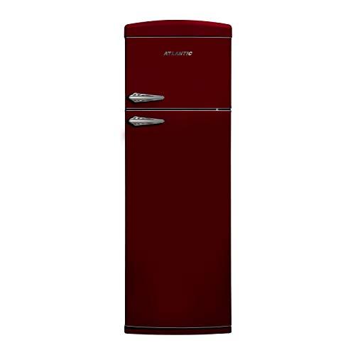 frigorifero rosso vintage Atlantic ATBM3451CLA+ - Frigorifero Doppia Porta