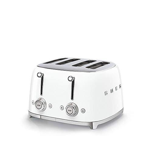 Smeg-TSF03WHEU-Toaster-2000-Metall-Weiss