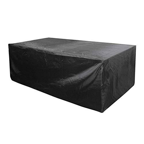 ZXHQ Funda Muebles JardíN 150x150x75cm, Funda Protectora para Muebles, Cubierta Mesa JardíN Patio Impermeable A Prueba Viento Anti Rayos UV para Sofa De Jardin Muebles