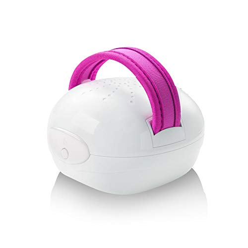 Medisana AC 850 Masajeador para celulitis para una piel más firme, auto-masaje con 6 rodillos de masaje rotatorios y 2 intensidades de masaje