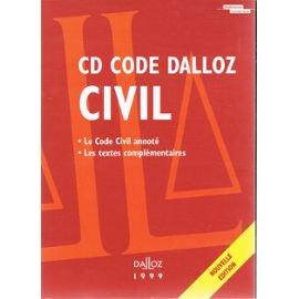 CD ROM CODE CIVIL 1999 PR PACK