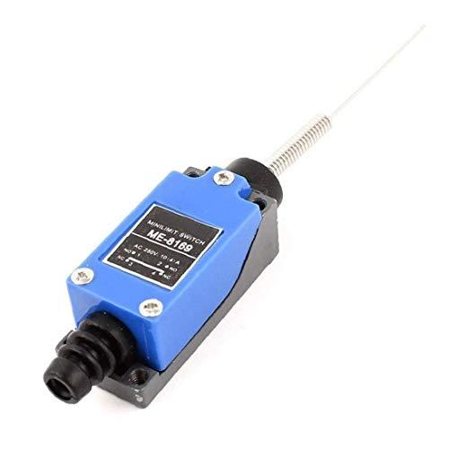 linjunddd Profesional Me-8169 Electrical Wobble Palillo De Rodillo Ajustable Interruptor De Nivel Brazo Momentáneo Mini Límite para El Molino del CNC Plasma De Alimentación Conveniente