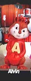 McDonalds Happy Meal Alvin and The Chipmunks The Squeakquel Alvin Toy Figure #1 2010
