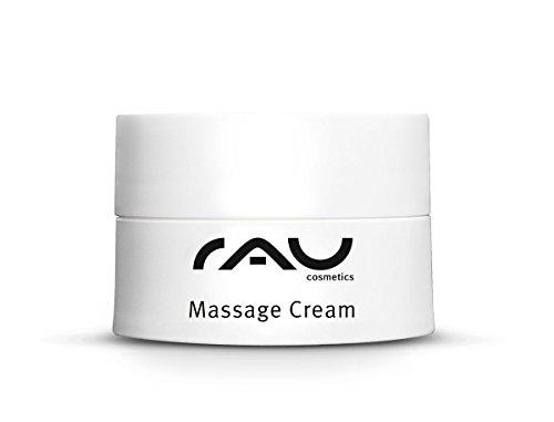 RAU Massage Cream 20 ml - Massagecreme Gesicht und Körper für Entspannende Massagen
