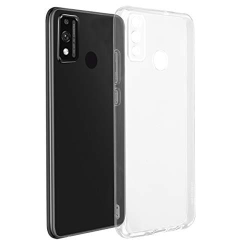 ROVLAK Custodia per Huawei Honor 9X Lite Cover Trasparente Silicone TPU Protective Case Ultra Sottile Morbida Antiurto Antiscivolo TPU Custodia per Huawei Honor 9X Lite Smartphone