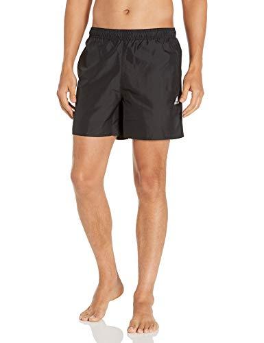 adidas mens CLX Solid Swim Shorts Black XX-Large