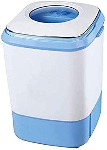 YYANG Mini Lavadora semiautomática pequeña bañera Individual Dormitorio Lavadora, Rosa (Color : Blue)