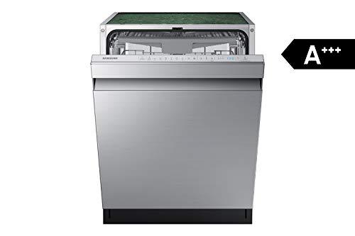 Samsung DW7500 DW60R7050US/EG Teilintegrierter Einbau-Geschirrspüler/Breite 59,8 cm / 14 Maßgedecke/A+++ / Automatische Türöffnung/Leise-Funktion/Hygiene-Funktion/Silber