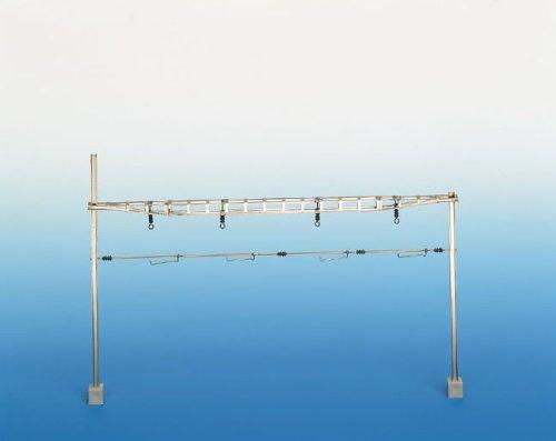 Sommerfeldt 387 RhB Oberleitung H0 HO m Quertragwerk komplett mit Masten Bausatz