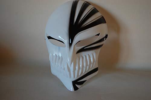 Rotschild-Wellness GmbH Halloween Anime Death Bleach Resin Kurosaki Ichigo Maske Kurosaki Cosplay Mask