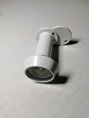 Chubb Typ 8V001 Sicherheitstürspion für Türspion oder Türspion 200 Grad Weitwinkel, mit Abdeckung, feuergetestet, 30 und 60 Minuten, weiß