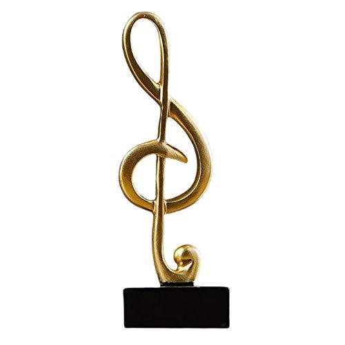 non_brand Música Escultura Adorno Estatuilla Estatua Accesorios para Fotos Oficina Decoración de Escritorio B