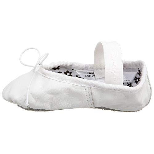 Capezio Girls' Dance Shoes White white