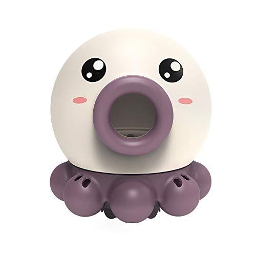 Juguete De Ducha para Niños, Pulpo De Agua Giratorio Pulpo Baby Shower Pulpo De Dibujos Animados Haz Que El Baño del Bebé Ya No Sea Aburrido, Adecuado para Niños Y Niñas,Purple