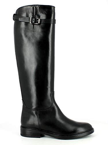 PROGETTO, Damen Stiefel & Stiefeletten Schwarz Schwarz, Schwarz - Schwarz - Größe: 36 EU