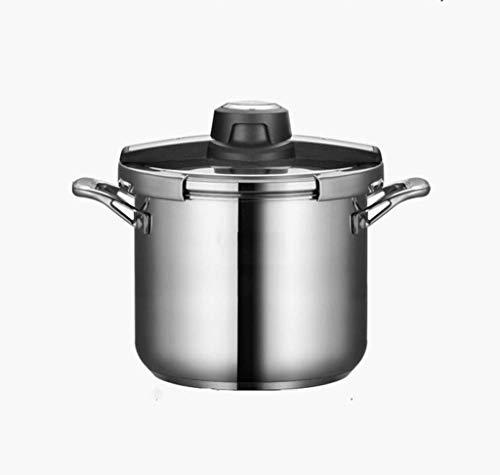 Cocina de presión de acero inoxidable, olla de cocina rápida de un solo botón, olla de presión, utensilios de cocina, estufa de gas, cocina de inducción de propósito general, diseño de seguridad a pru