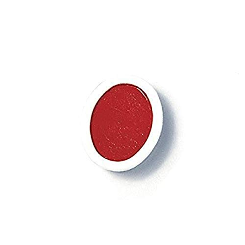 PRANG Refill Pans for Oval Watercolor Paint Set, 12 Pans per Box, Red (00801)