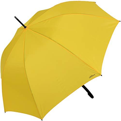 s.Oliver Stockschirm - Regenschirm City gelb