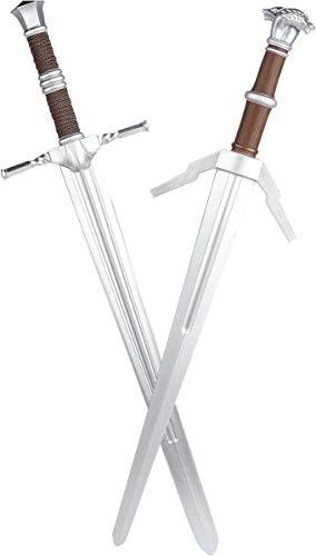 The Witcher Steel und Silver - LARP Unisex Deko-Waffe Multicolor Kunststoff Fan-Merch, Gaming