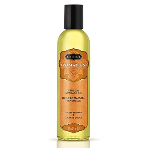 Kama Sutra Aromatics Massage Oil Sweet Almond, 8 Fl Oz