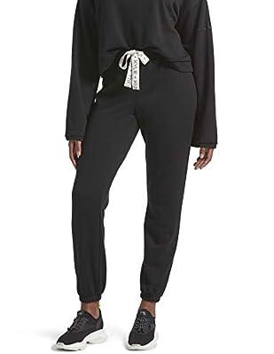 Kendall + Kylie Women's Lounge Sweat Pants, Black, Medium