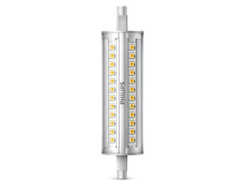 Philips bombilla LED lineal, casquillo R7s, 12 W equivalentes a 120 W en incandescencia, 2000 lúmenes, luz blanca fría