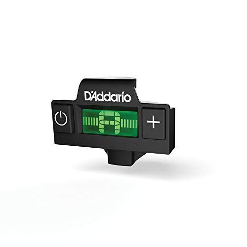 D'Addario Stimmgerät mitCip für Befestigung im Schalloch der Gitarre | INNOVATION MADE IN USA | PW-CT-15 | Micro Headstock Tuner