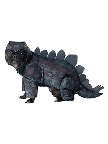 California Costumes Collections PET20168 - Disfraz de Perro stegosaurio, tamaño Mediano