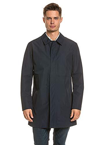 Selected 5409J Trench Uomo Homme Windbreaker Blue Jacket Coat Man [M]