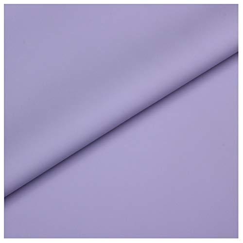 Material de Piel Sintética Tapicería Tela de Piel Sintética Impermeable Cuero Mate Sofá Fundas para Asientos de Coche Material de Zapato Hecho a Mano DIY (Violeta)(Size:1.4x10m)