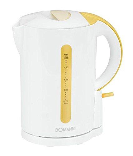 Bomann WK 560 CB Wasserkocher, weiß/vanilla