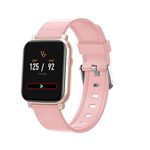 F1 Smart Watch 2020 Hombres Mujeres Moda Smartwatch para Android iOS Aleación Fitness Touch Fitness Tracker IP68 Impermeable,D
