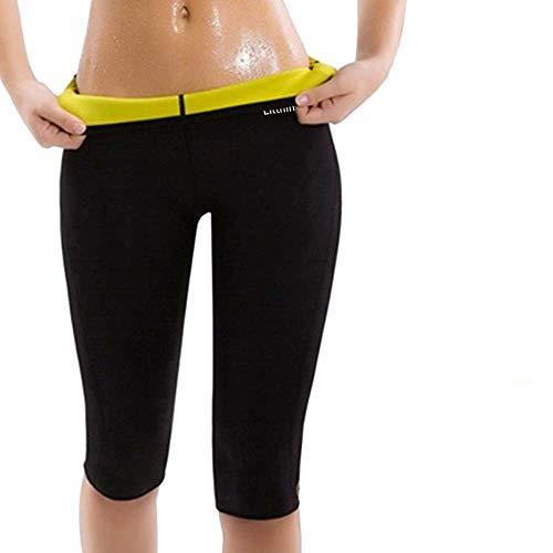Litthing Pantalones para Adelgazar Neopreno Mujer Deportivos Pantalones Sauna Pantalón de Sudoración Adelgazar Pantalón Quema Grasa Mallas Termicos de Neopreno