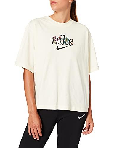 NIKE Boxy Nature T-Shirt, Coconut Milk, XL para Mujer