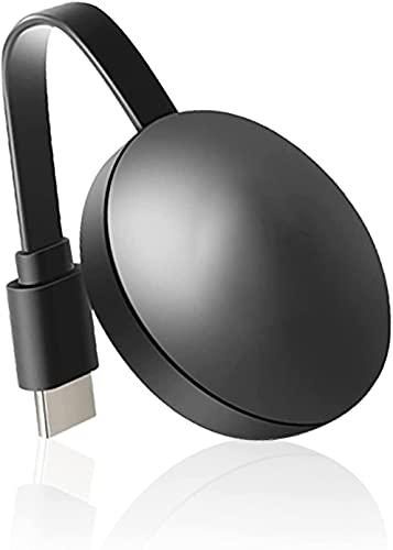 HFK WiFi Display Dongle Hdmi, Adaptador de Pantalla WiFi Hdmi Inalámbrico, 4K HD 1080P WiFi Display dongle Streaming Sticking Receptor Soporte, para Smartphone / PC / TV / Monitor / Proyector