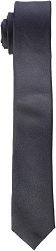 Seidensticker Herren Krawatte Schmal , Grau (Anthra 34) , 5 cm Breit