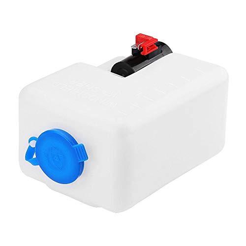 Scheibenwaschanlage Wischwasserbehälter,Universal Scheibenwasch Scheiben Waschflasche Windschutzscheibe Pumpentank Spritzflasche 12V für Oldtimer