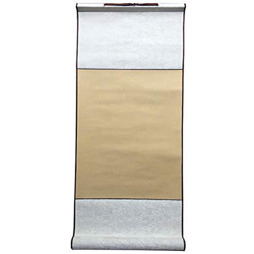 GFPR Parchemins, Rouleau de Papier de Riz Antique pour la Peinture/Calligraphie, 27 * 60 cm