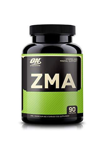 Optimum Nutrition ON ZMA, Vitamine und Mineralstoffe, Nahrungsergänzungsmittel mit Zink, Magnesium und Vitamin B6, Unflavoured, 90 Portionen, 90 Kapseln