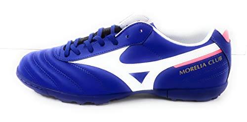 Mizuno Morelia II Club AS (Turf), Bota de fútbol, Reflex Blue-White, Talla 12 US (46 EU)