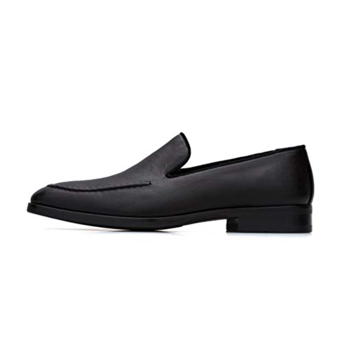 Bourgeois Boheme Men's Vegan Husdon Men's Loafer (43 (10 US)) Black