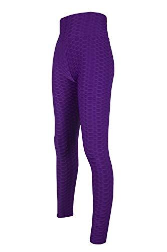 B/H Yogahose Bootleg Hose Sport,Pantalones de Yoga Ajustados Que levantan la Cadera, Pantalones Deportivos de Cintura Alta-B_M