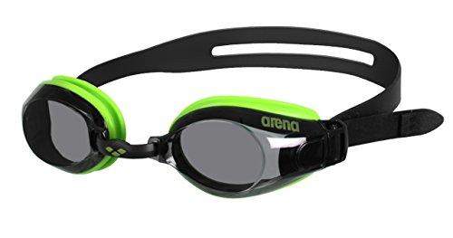 Arena Zoom X-Fit Gafas de Natación, Unisex Adulto, Verde (Smoke), Universal