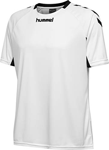 hummel Herren CORE Team Jersey S/S Trikot, Weiß, L