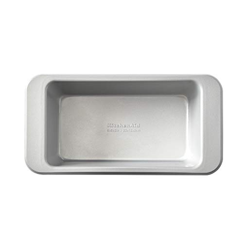 KitchenAid KE957OSNSA Nonstick Loaf Pan, 9x5-inch, Silver
